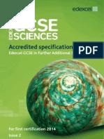 UG035188 GCSE Lin FAdSci Issue 2 Specs
