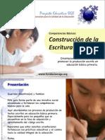 Construcción de la Escritura