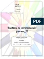 Cuaderno de Intervencion Fonema J - Copia