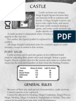 Mage Knight - Castle Rules Dec 2002