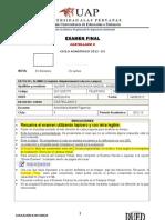 Examen de Castellano II 2012 3