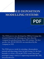 Ch4 Fused Deposition Modelling Systems