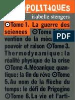Stengers Isabelle Cosmopolitiques 1 La Guerre Des Sciences
