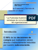 PUBLICIDAD SUBLIMINAL