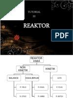 Materi Tutor 3 Reaktor