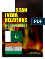 Pakistan India Relations a Chronology 1947 2008