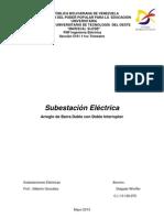 Subestación Eléctrica de Distribución Doble Barra-Doble Intrrup.