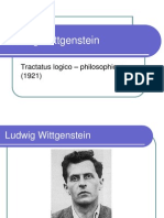 Ludwig Wittgenstein Tractatus