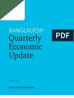 Bangladesh Quarterly Economic Update - December 2007