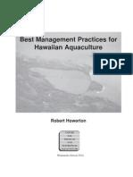 aquaculture - best management practices