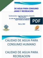 Calidad de Agua Para Consumo Humano y Recreacion-unidades Residenciales 2