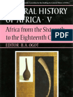 Volume v - Africa From the Sixteenth to the Eighteenth Century