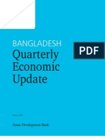 Bangladesh Quarterly Economic Update - March 2007