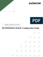 ISCOM2924GF-4GE_4C Configuration Guide