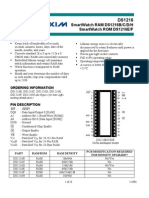 Datasheet DS1216 DALLAS