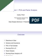 2009 7 PCA + Factor Analyses