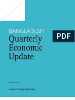 Bangladesh Quarterly Economic Update - September 2006