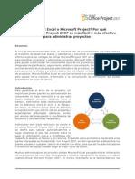 Microsoft Excel vs Microsoft Project