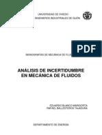 Analisis de Incertidumbre en MF