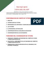 PLAN ANUAL DE TUTORÍA Y ORIENTACIÓN EDUCACIONAL