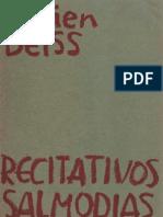 Recitativos y Salmodias_Lucien Deiss