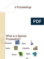 Special Proceedings  Powerpoint Reviewer Presentation Rule 75 to 80