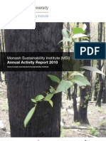 MSI Annual Activity Report 2010