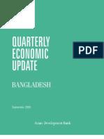 Bangladesh Quarterly Economic Update - September 2005