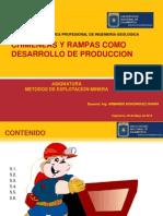 Cap. 05.- Chimeneas y Rampas Como Desarrollo de Produccion