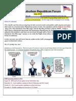NSRF July 2013 Newsletter