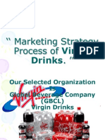 Marketing Strategy Process of Virgin Drinks