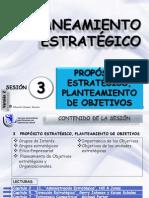 Sesion 3 Proposito Estrategico Planteamiento de Objetivos