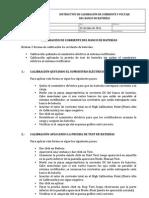 Instructivo de Calibración de Corriente y Voltaje