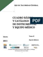 Edicion 2011 Tomo II Equipo Medico