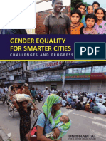 UN--HABITAT 2010 Gender Equality for Smarter Cities-- Challenges and Progress, HS--1250--09E, UN Human Settlements Programme (34 Pp.)