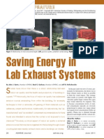 Saving Energy in