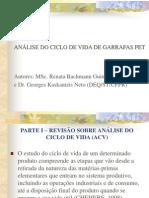 ANÁLISE DO CICLO DE VIDA DE GARRAFAS PET