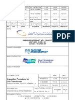 INSPECTION PROCEDURE FOR UNIT TRANSFORMER.pdf