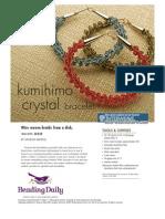 Kumihimo Crystal