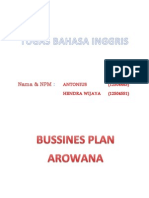 Bussines Plan Arwana