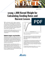 Using 1,000 Kernel Weight for