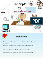 Concepts of Communication