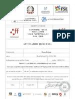 Attestato CFF