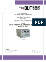 Power Electronics IV Report