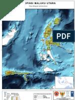 Basemap Maluku Utara Province BNPB