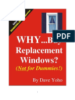 Why Buy Replacement Windows?