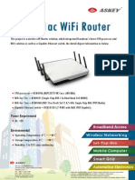 802.11ac WiFi Router