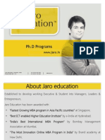 Jaro Education Phdkl