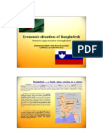 Economic Situation of BANGLADESH