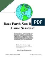 Seasons EarthSunDist